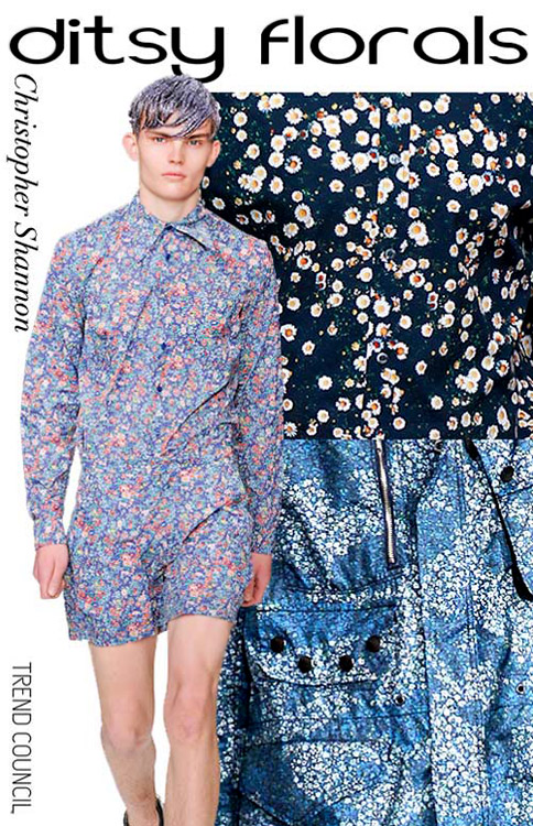 Inspirational Men's pattern for Spring-Summer 2014
