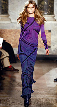 Sex appeal and bohemian charm with the Fall-Winter 2010/2011 collection of Emilio Pucci