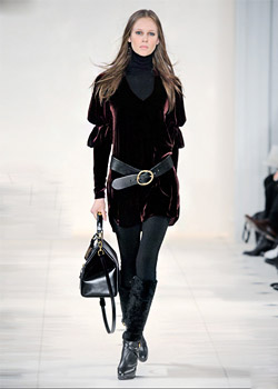 The new Fall/Winter 2010 collection of Ralph Lauren