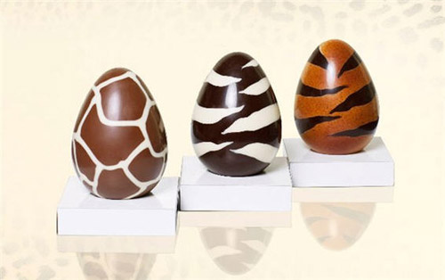 Roberto Cavalli's animal motif Easter eggs