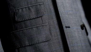 Why men's suit jacket pockets are sewn shut ?