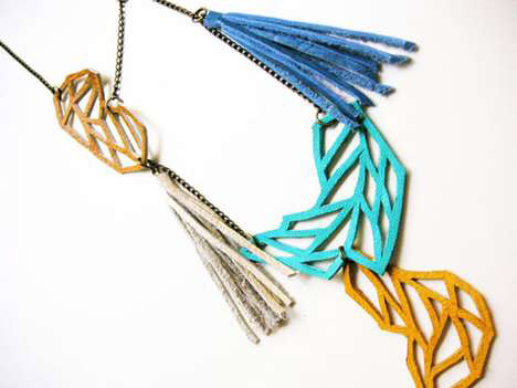 Hand-made colorful eco jewelry by Boo and Boo Factory