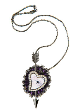 Vivienne Westwood two-piece jewelry set for Valentine's Day