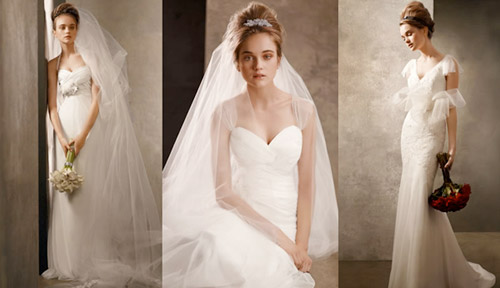 White by Vera Wang 2011 collection wedding dresses