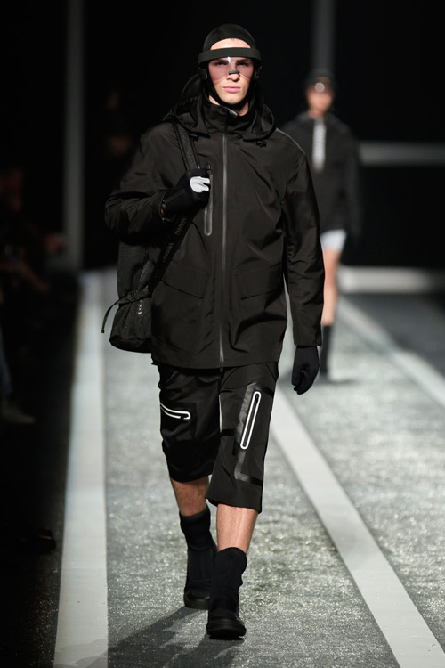 The Alexander Wang x H&M collection debuts on the runway in New York