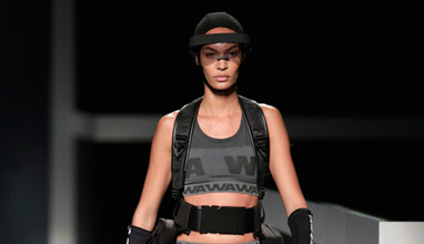The Alexander Wang H&M collection debuts on the runway in New York