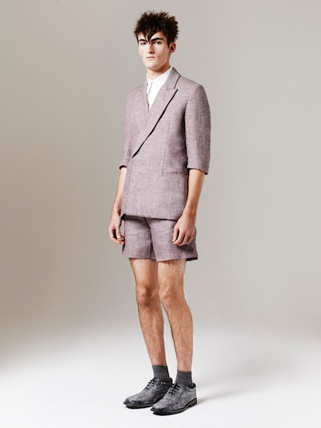You can see the Spring 2015 collection by Alan Taylor at London Collections: Mens