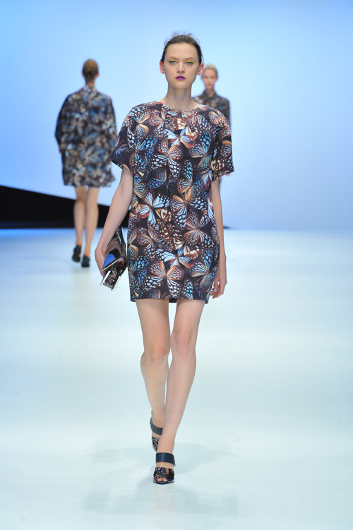 HANAE MORI Spring/Summer 2015 collection during the Mercedes­-Benz Fashion Week TOKYO