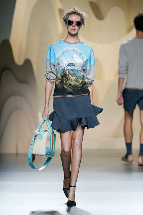 THE MAGIC MOUNTAIN by Ana Locking at Mercedez Benz Fashion Week Madrid