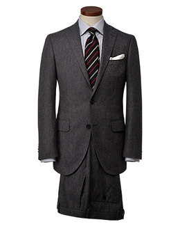 'Begin × THE SUIT COMPANY' collaboration suit