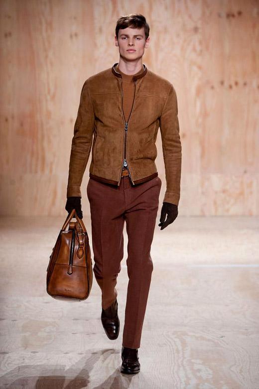 Menswear: Berluti Fall-Winter 2014/2015 collection