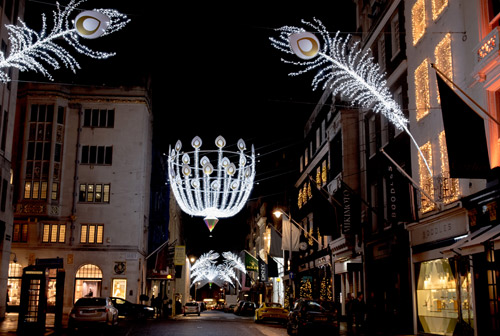 Bond Street launches heritage-inspired illumination scheme for 2014 festive season