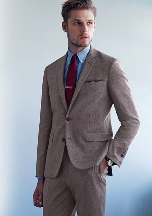 Made-to-measure suits by Brook Brothers offered in Australia