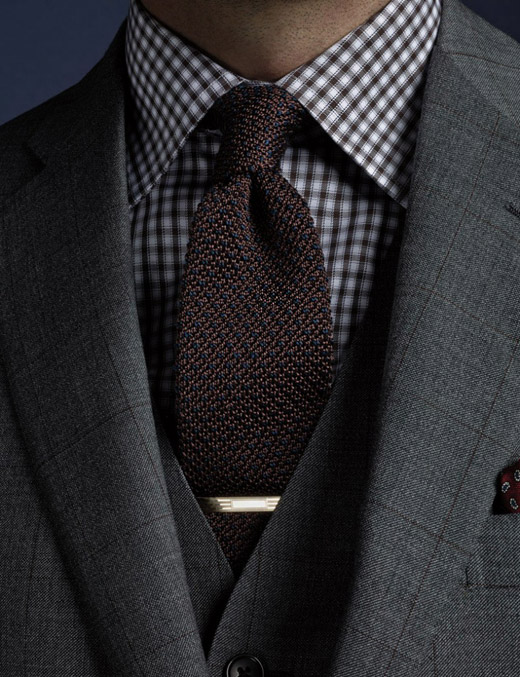 High quality made-to-measure men's suits by Brooks brothers