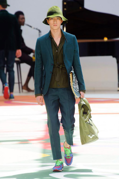 Men's fashion: Burberry Prorsum Spring-Summer 2015 collection