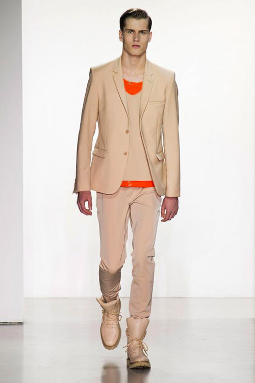 Spring-Summer 2015 menswear collection by Calvin Klein