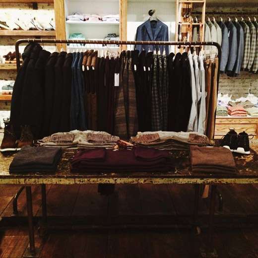 Menswear stores: Carson Street Clothiers