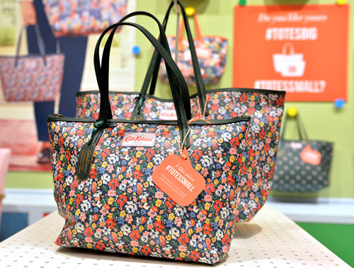 Leather Trim Tote by Cath Kidson