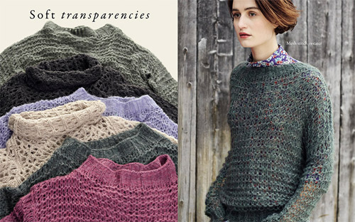 The colors of knitwear by Benetton