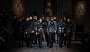 Men's suits: Dolce&Gabbana Winter 2015
