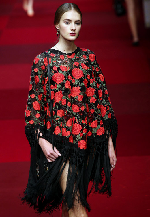 Sexy Spanish style for Spring-Summer 2015 by Dolce & Gabbana