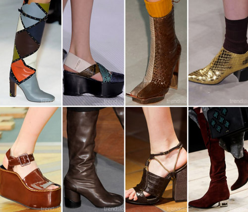 Fashion Trends Fall Winter 20152016 Footwear
