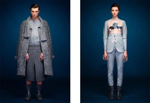 Fall/Winter 2014-2015 by the Ukrainian designer Ivan Frolov