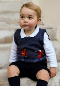 Prince George's 2014 Holiday portraits