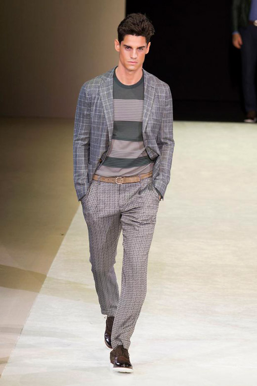 Echoes of Armani by Giorgio Armani for Spring-Summer 2015