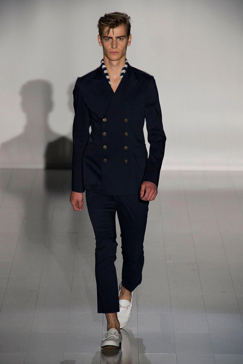 Gucci Men Fashion Show 2015 Menswear Maritime style for