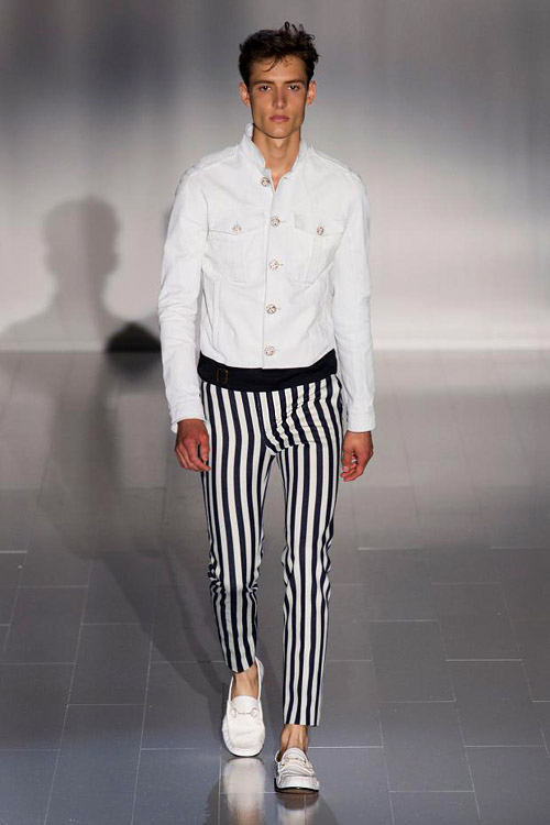 Menswear: Maritime style for Spring-Summer 2015 by Gucci