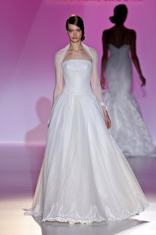 Hannibal Laguna Bridal 2014 collection