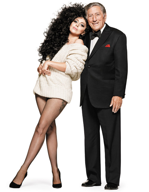 Tony Bennett and Lady Gaga for H&M's Holiday campaign