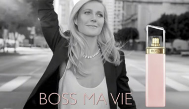 Gwyneth Paltrow is the new face of Hugo Boss