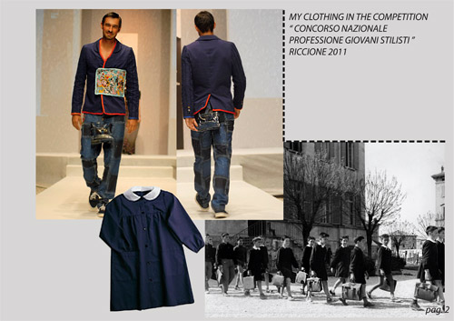 Interview with Vincenzo Iadicicco - menswear designer from Italy