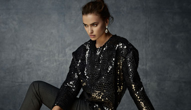 Irina Shayk for SUITEBLANCO Night '14
