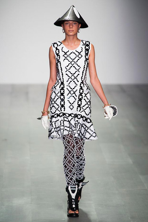 KTZ presents Spring/Summer 2015 during the Fashion Week London