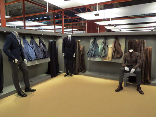 Lanificio Ermenegildo Zegna Autumn/Winter 2015/2016 fabrics collection