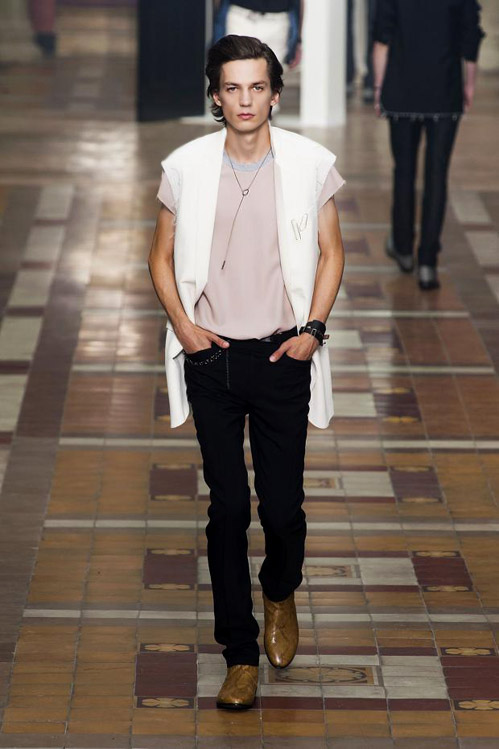 Paris Fashion Week: Lanvin Spring-Summer 2015 menswear collection