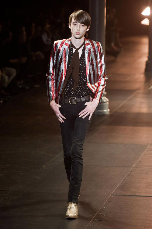 Menswear: Saint Laurent Spring 2015