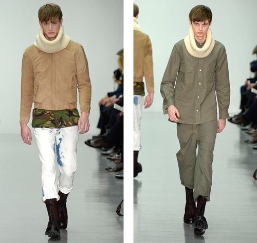 The British designer Lou Dalton will present Spring 2015 LC: Men
