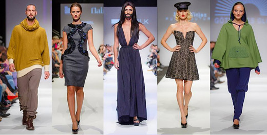 Bulgarian Balin Balev is one of the official photographers of MQ Vienna Fashion Week