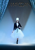 'Magic Circus' at the Marc Cain show during Mercedes-Benz Fashion Week Berlin