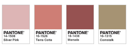 The color of Spring/Summer 2015: Marsala