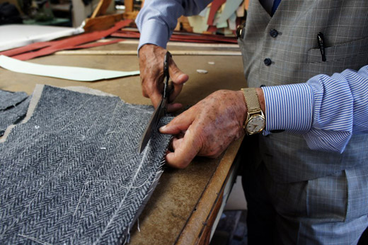Where to buy men's suits: Martin Greenfield Clothiers