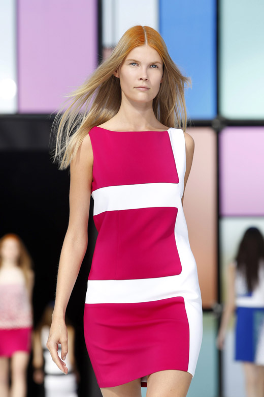 Colorful is the new black: Maxime Simoens Spring-Summer 2015 collection