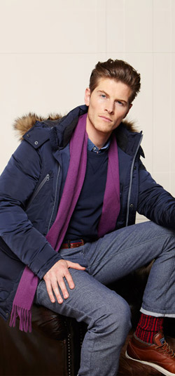 McGregor men's collection for Fall/Winter 2014-2015