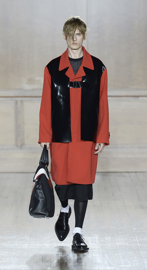 Alexander McQueen Spring/Summer 2015 menswear collection