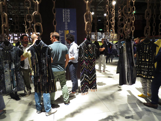 Fashion trends Fall/Winter 2015-2016 in textile and accessories at Milano Unica