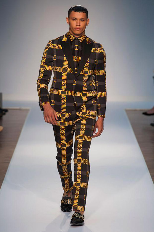 Menswear: Moschino Spring-Summer 2015 collection